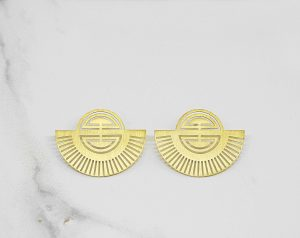 JO earrings by jo.reid jewellery
