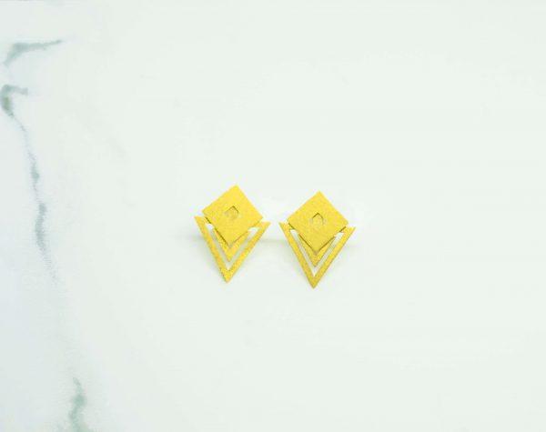 RO earrings by jo.reid jewellery